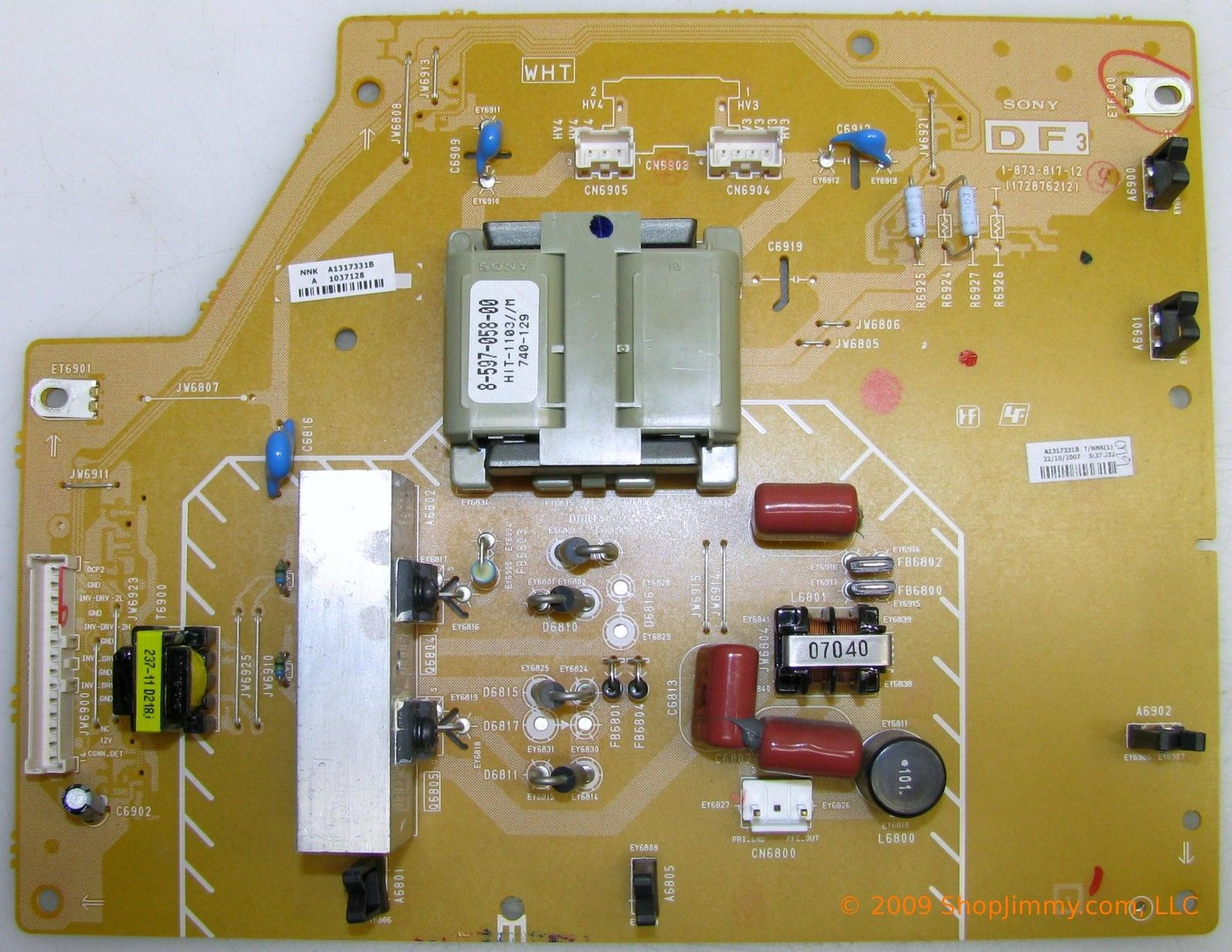 Sony A-1317-331-B (1-873-817-12) DF3 Board for KDL-46W5000