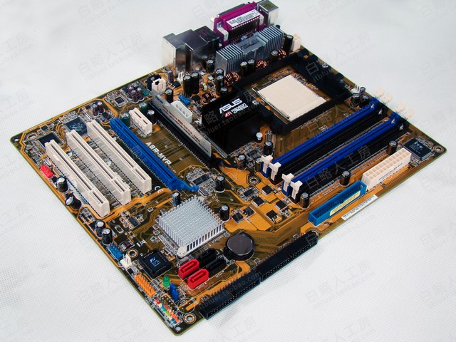 For ASUS A8R-MVP ATI CrossFire 1600 AMD Socket-939 ATX Mobo