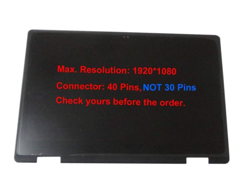 Original fhd lcd / led display touchscreen montage & rahmen für dell inspiron 7579