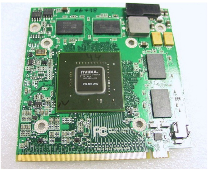 nVidia 9600M GS DDR2 512M G96-600-C1 MXM II VGA Video Graphic Ca