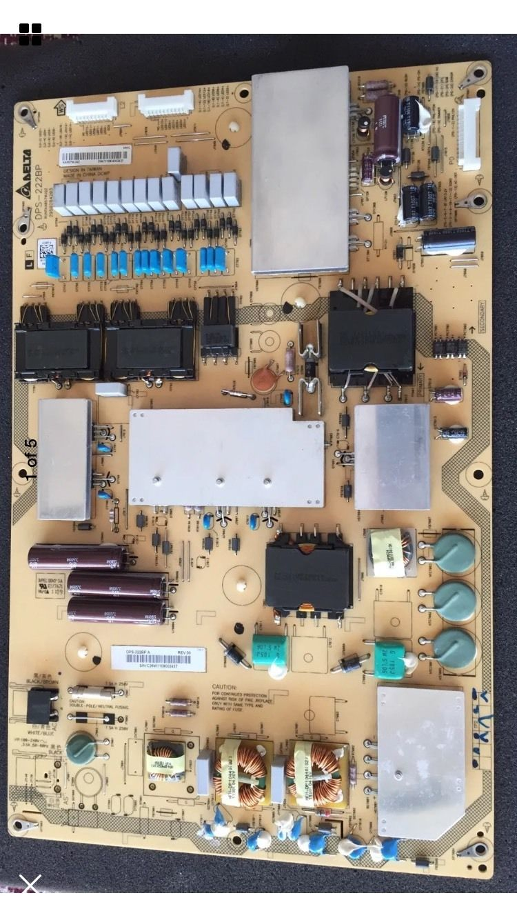 SHARP LC-70LE732U POWER BOARD DPS-222BP A RUNTKA857WJQZ
